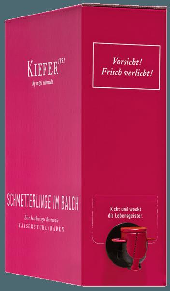 Schmetterlinge im Bauch Rosé 3,0 l Bag in Box Weinschlauch 2020 - Weingut Kiefer