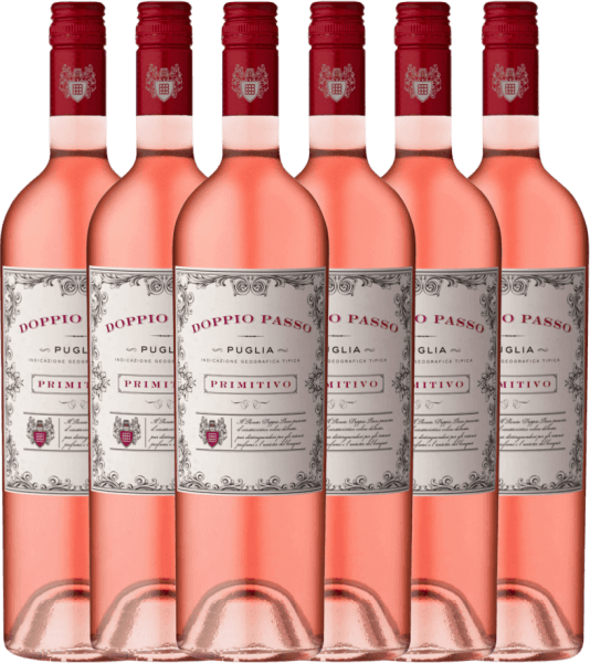6er Vorteils-Weinpaket - Doppio Passo Rosato IGT 2020 - CVCB