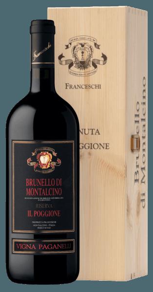 Vigna Paganelli Brunello di Montalcino Riserva DOCG 1,5 l Magnum in OHK 2015 - Tenuta il Poggione