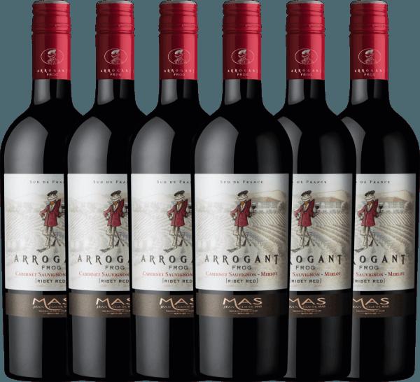 6er Vorteilspaket Ribet Red Cabernet Sauvignon Merlot 2020 - Arrogant Frog
