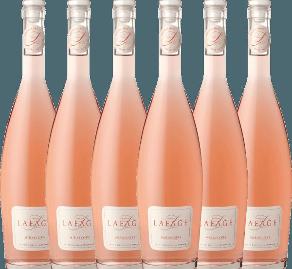 6er Vorteils-Weinpaket - Miraflors Rosé 2020 - Domaine Lafage