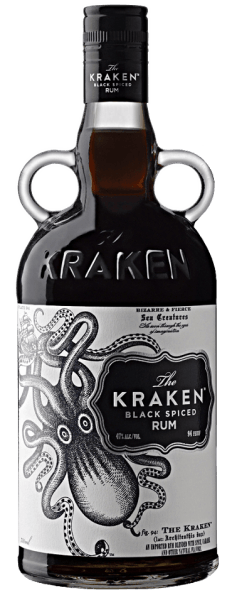 The Kraken Black Spiced Rum - Kraken Rum Company