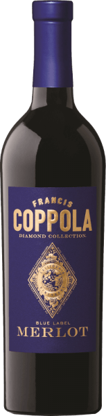 Diamond Collection Blue Label Merlot 2017 - Francis Ford Coppola Winery