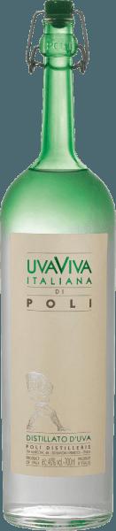 Jacopo Poli 's Uva Viva Italiana di Poli is een frisse, levendige druivenbrandewijn die wordt gedistilleerd van de druivenrassen Malvasia (60%) en Moscato (40%). In het glas wordt dit merk gepresenteerd in een heldere, transparante kleur. Het fijnfruitige boeket wordt gekenmerkt door intense tonen van rijpe abrikozen, sappige peren en bloemige tonen van sinaasappelbloesems. In de mond overtuigt deze Italiaanse druivenbrandewijn met een frisse textuur en een levendig lichaam. Distillatie van de Uva Viva Italiana di Poli De Malvasia en Moscato druiven worden eerst gefermenteerd in roestvrijstalen tanks op een gecontroleerde temperatuur. Daarna wordt deze wijn traditioneel samen met de druiven gedistilleerd in oude koperen branders. Na het destillatieproces heeft deze druivenbrandewijn nog steeds 75% vol. Door het toevoegen van gedestilleerd water bereikt de Uva Viva Italiana di Poli een alcoholgehalte van 40% vol. Daarna rust deze druivenbrandewijn minstens 6 maanden in roestvrijstalen tanks om uiteindelijk zachtjes gefilterd en op de fles gevuld te worden. Serveeraanbevelingvoor de Uva Viva Italiana di Poli Jacopo Poli Geniet van deze Italiaanse brandewijn op een temperatuur van 10 tot 15 graden Celsius als digestief na een heerlijk menu of met desserts zoals abrikozentaart.