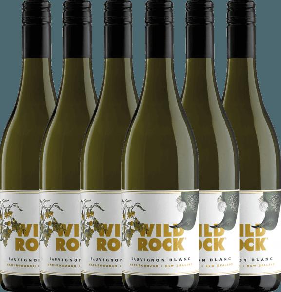 6er Vorteils-Weinpaket Sauvignon Blanc Marlborough 2020 - Wild Rock